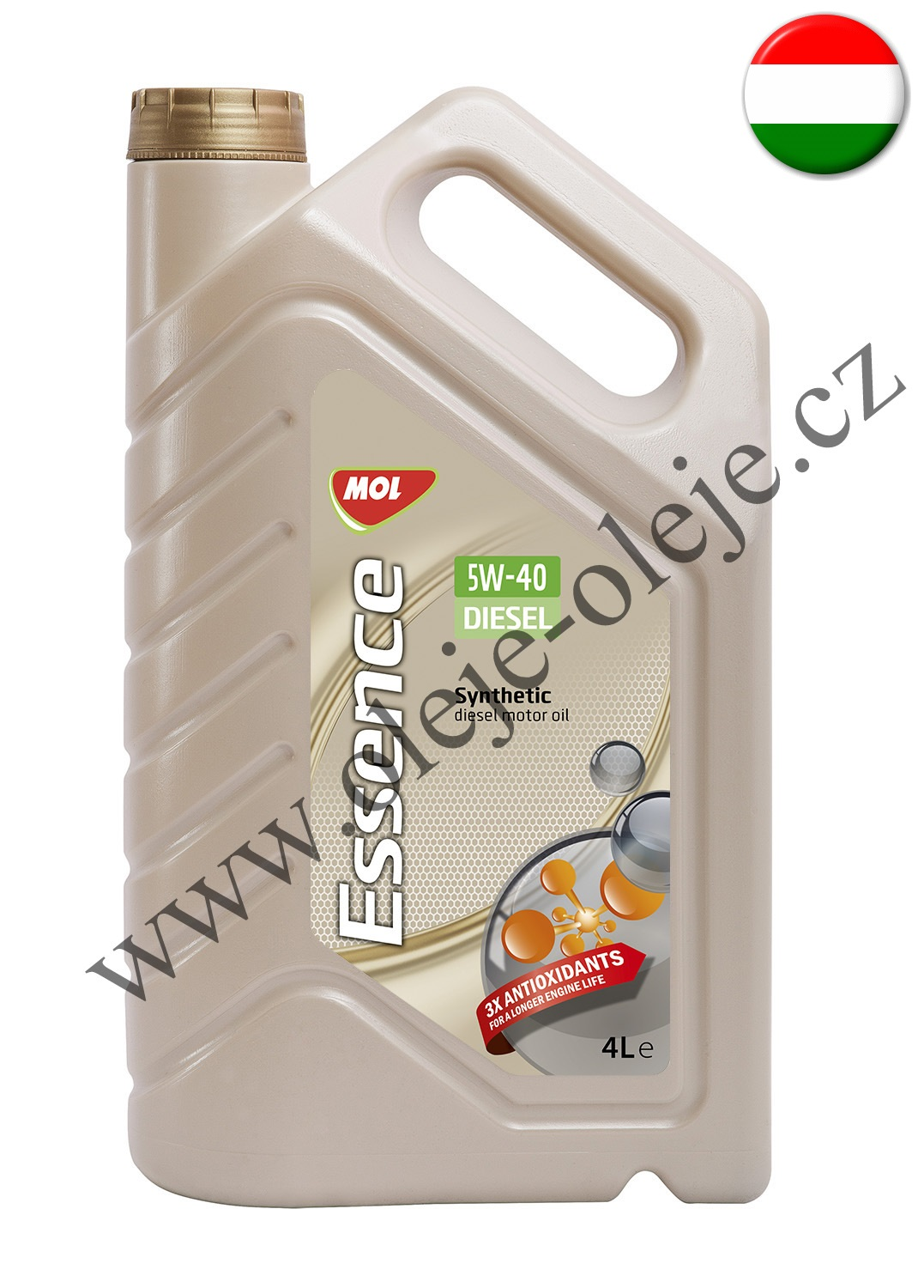 MOL Dynamic Essence Diesel 5W-40 4 l