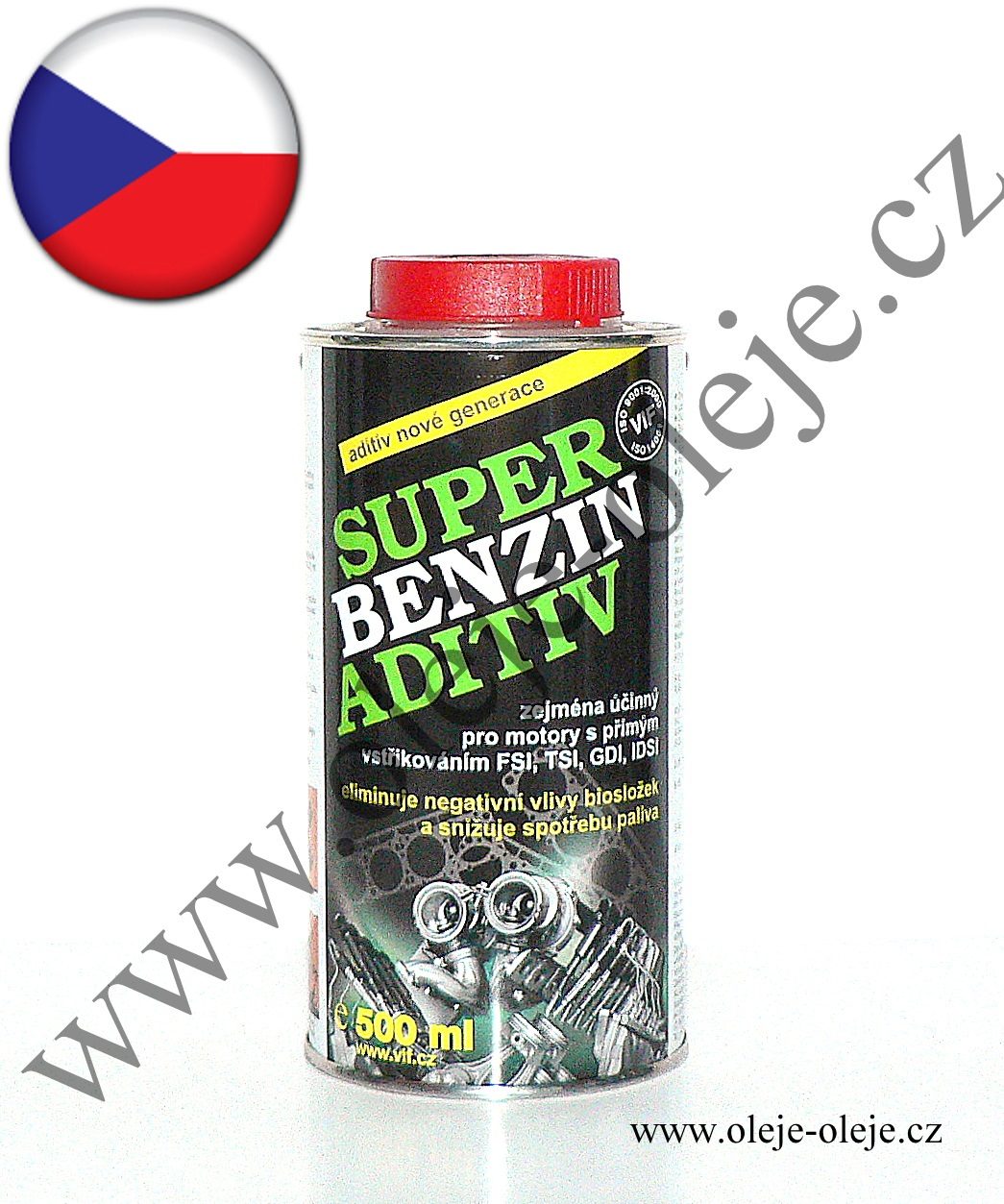 VIF Super Benzin aditiv 6x 500 ml