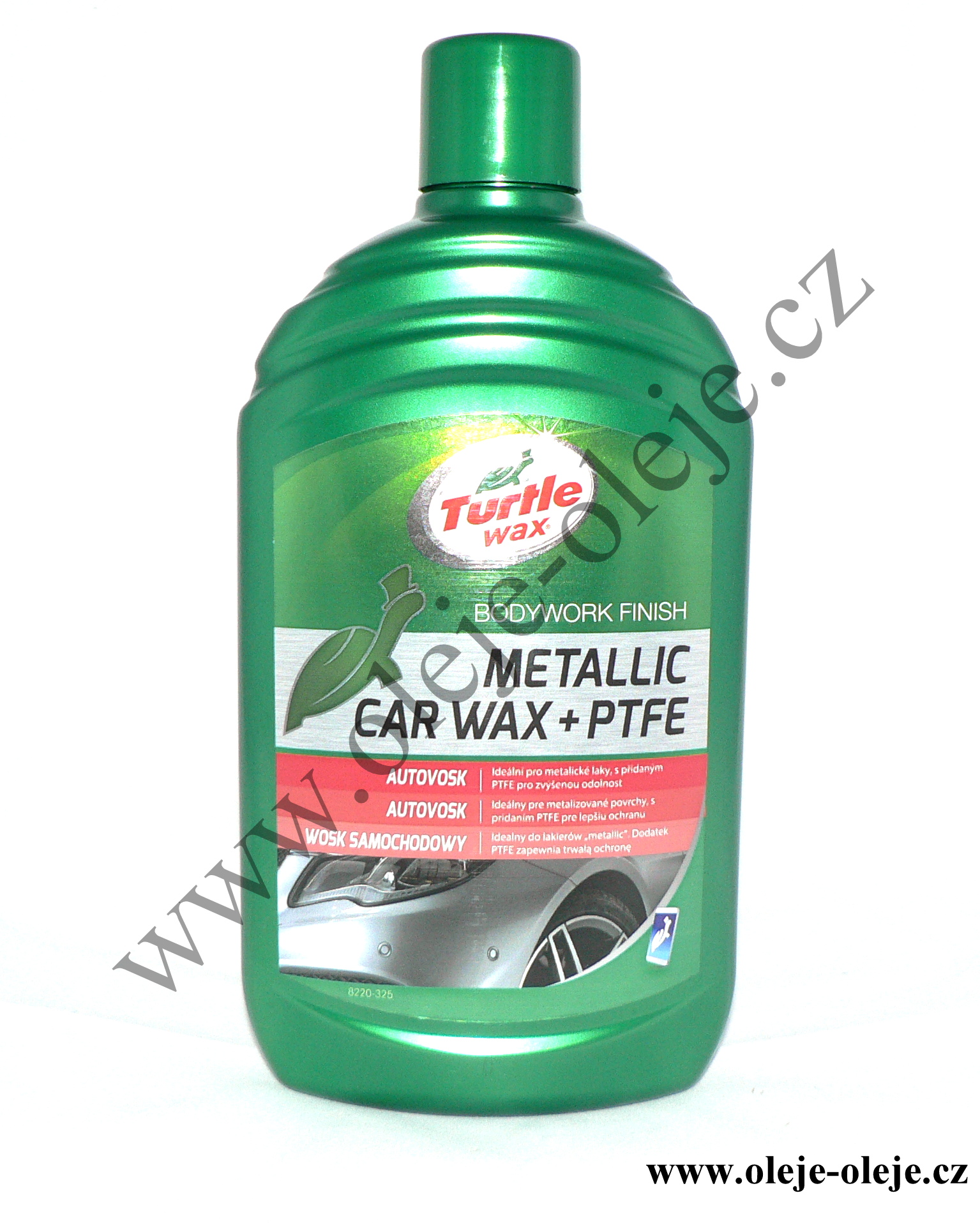 Turtle Wax Plus METALIC +  PTFE - tekutý vosk s teflonem 500 ml