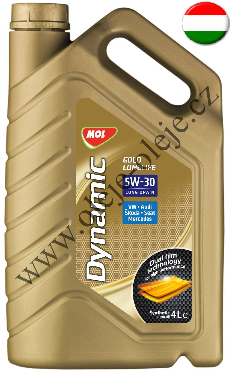 MOL Dynamic Gold Longlife 4 l